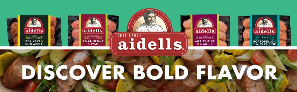 Aidells Smoked Chicken Sausage Chicken Apple 12 Oz 4 Fully