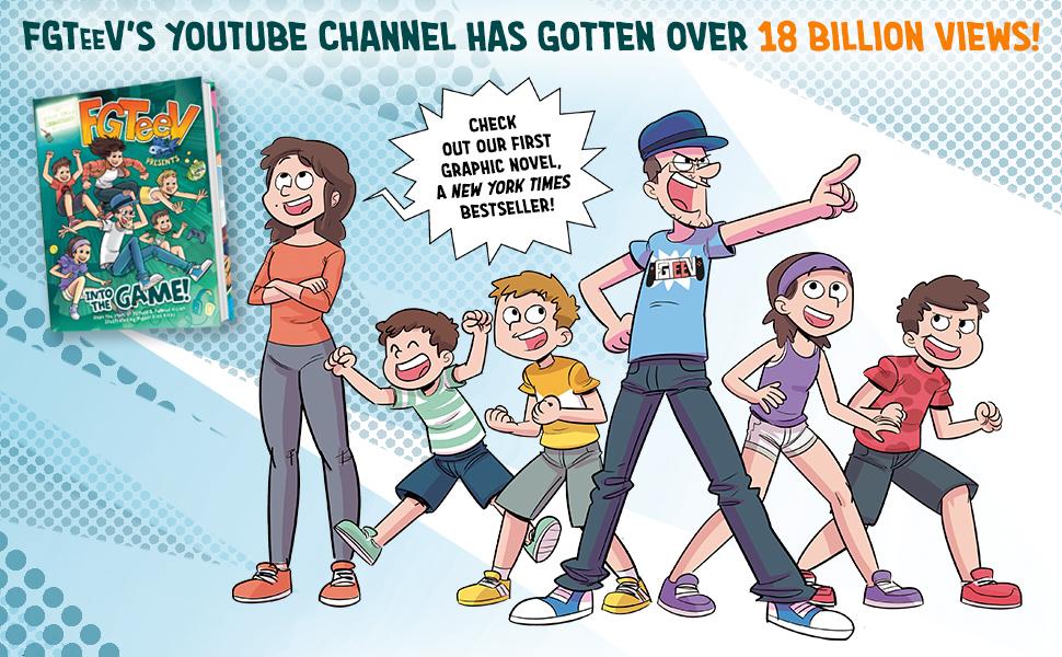 FGTeeV, comic, youtube, family