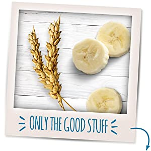 Made to nourish with 2 grams of whole grains per serving.