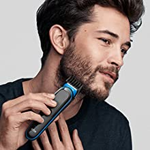 Rifinitura barba lunga