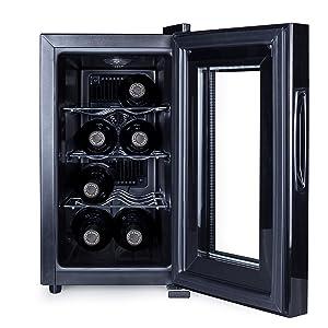 Nevera para vino Tristar WR-7508 – Para 8 botellas – Clase ...