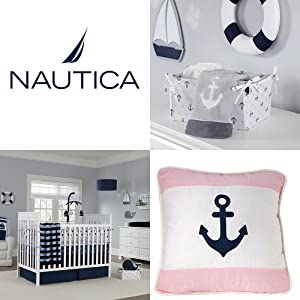 Amazon Com Nautica Whale Of A Tale 4pc Bedding Set