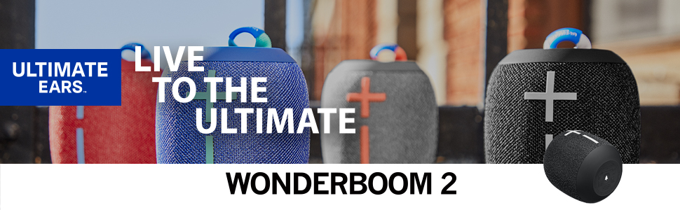 Wonderboom 2, Bocina contra agua, bocina bluetooth, bocina inalámbrica, bocina Ultimate Ears, UE