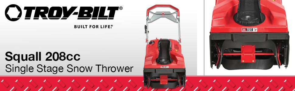 Amazon.com: Máquina quitanieves, de Troy-Bilt, con ...