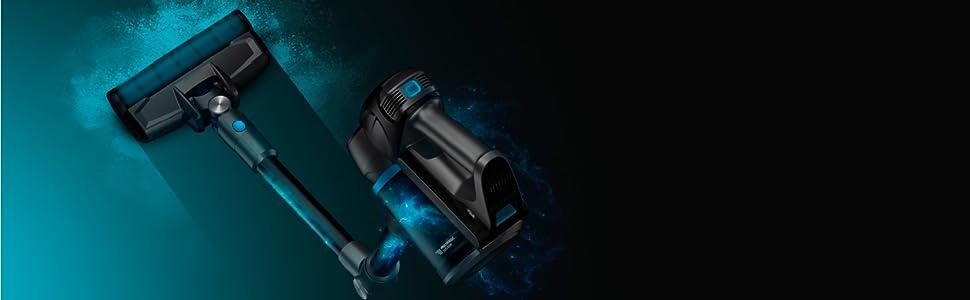 Cecotec Aspirador con motor digital Conga Rockstar 700 X-Treme Ergoflex. Aspirador 3 in 1, Sin cables, Potencia 430 W, Potencia succión 24 kPa, Autonomía hasta 65 min: Amazon.es: Hogar