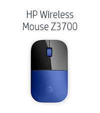 HP Wireless Mouse Z3700 - Blue (Gadget, V0L81AA)