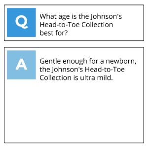 What age is Johnson's Head to Toe Collection for