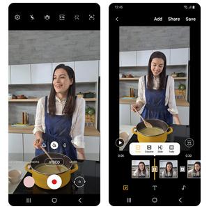 Samsung Galaxy Note10 Lite Video Editing