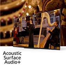 Acoustic Surface Audio+ technology