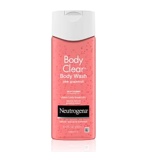 Body Clear Pink Grapefruit Acne Body Wash