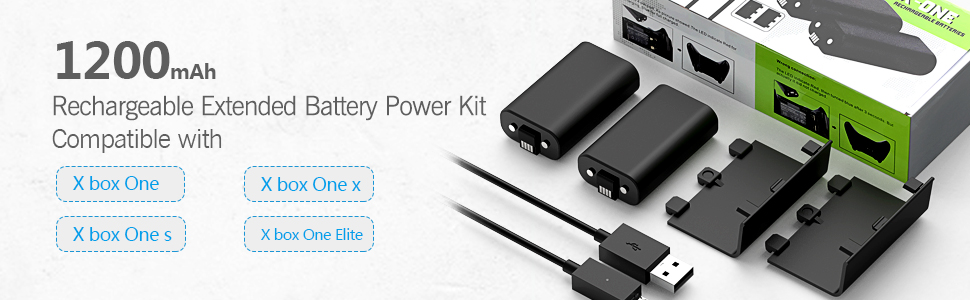 xbox one battery pack