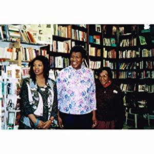 Octavia E. Butler at 1993 book signing for Parable of the Sower