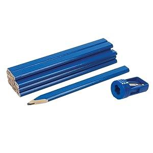 Carpenter/'s Pencils baubleistift Joiner Wood Pencils Sharpener Koula @gr