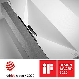 Award-winning Sleek Design