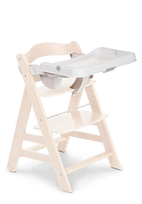 tavolino pappa con vassoio trasparente e protezione anti-scivolo da 6 mesi