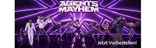 Agents Of Mayhem Day One Steelbook [PS4]/[XO]