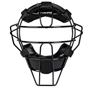 CHAMPRO Adult Umpire Mask Front View