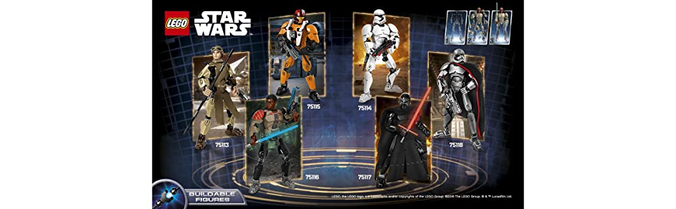 LEGO First Order Stormtrooper Banner - Collect all buildable figures in this series
