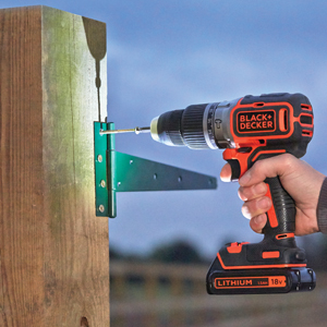 BLACK+DECKER BL188KB-QW - Taladro Percutor Motor Brushless
