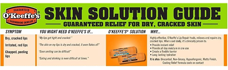 Lip Balm Lip Repair Cooling Relief by O'Keeffe's #13