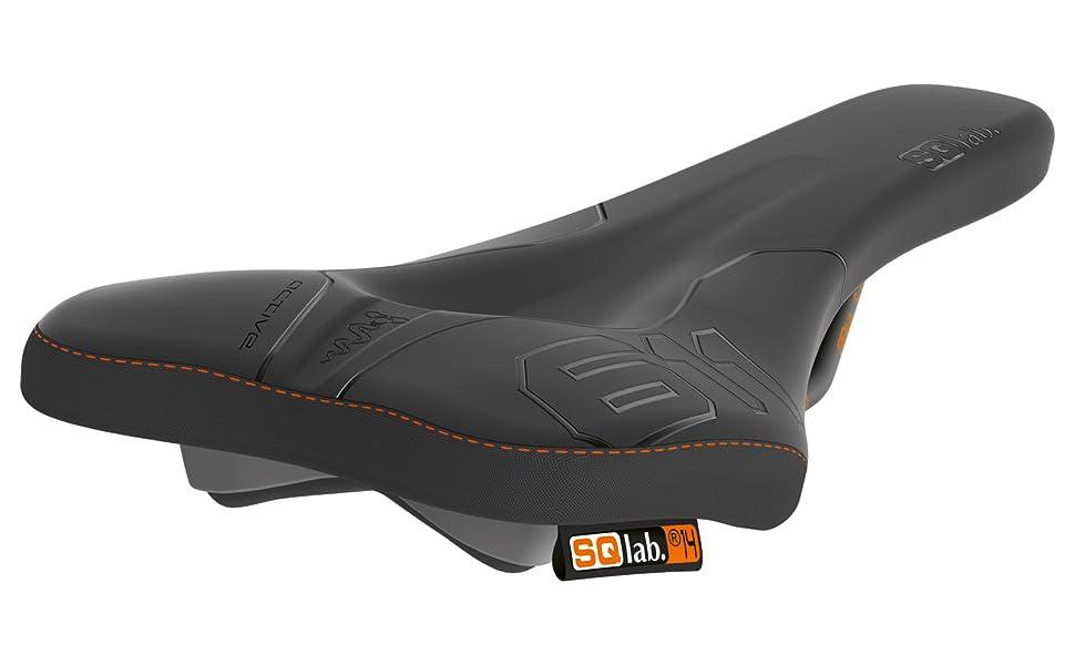 SQlab 603 Soft 15 cm Selle VTC Mixte Adulte Noir
