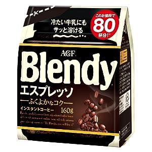 ブレンディ 水に溶けるコーヒー エスプレッソ インスタントコーヒー