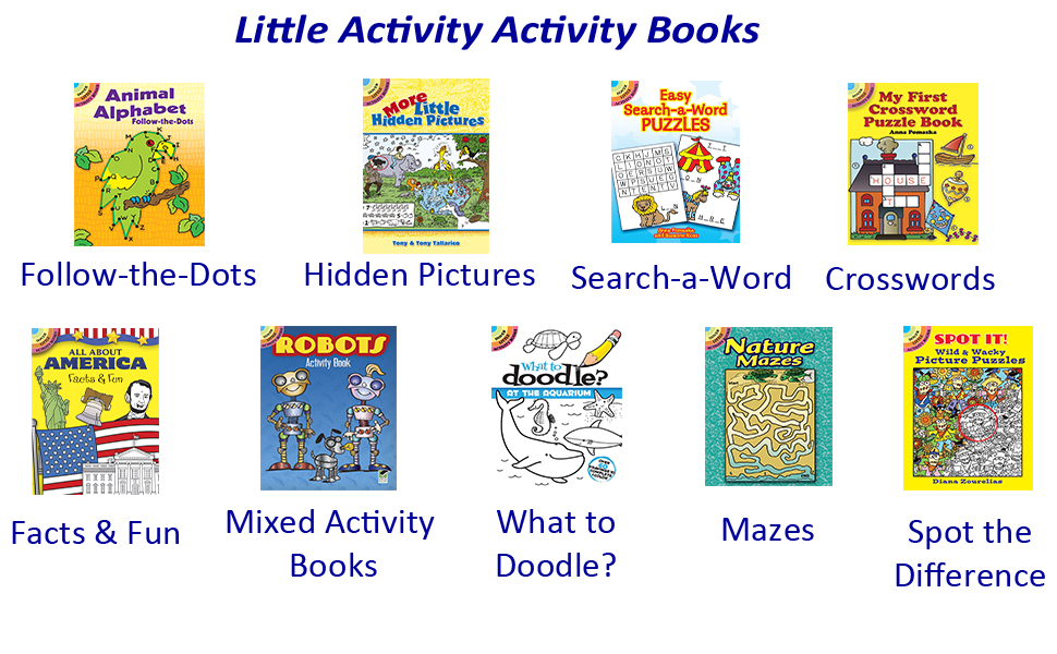 Little Activity Activity Books