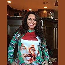 84d2401b8bdc Amazon.com  KSJK Unisex Funny Print Ugly Christmas Sweater Jumper ...