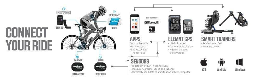 Wahoo Fitness Elemnt Ordenador para Bicicleta, Negro, Talla Única: Amazon.es: Deportes y aire libre
