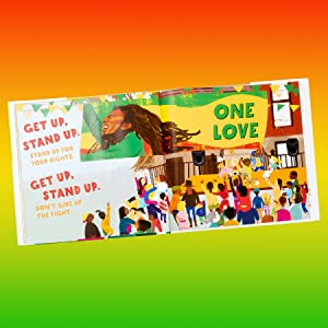 Bob Marley Cedella Marley Get Up Stand Up One Love Anti-Bullying Kids Books Books against bullies