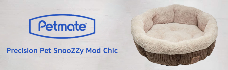 Petmate Precision Pet Snoozzy Mod Chic Banner