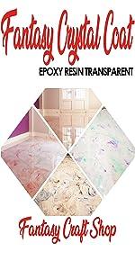 Fantasy Craft 1,5 Kg Fantasy, Resina epoxi Transparente ...