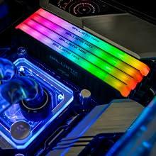 Atractivos efectos RGB