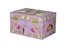 Amazoncom Enchantmints Butterfly Princess Music Jewelry Box Toys