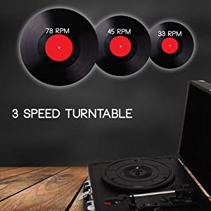 vinyl record player pyle;sound system with turntable;vintage record player with bluetooth;vintage;