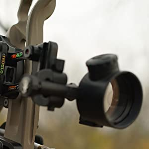 New TruGlo Archer/'s Choice Range Rover Pro Power Dot Bow Sight TG6401GB