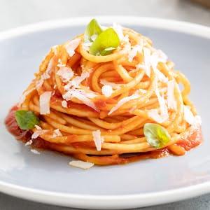 Basilico sauce spaghetti