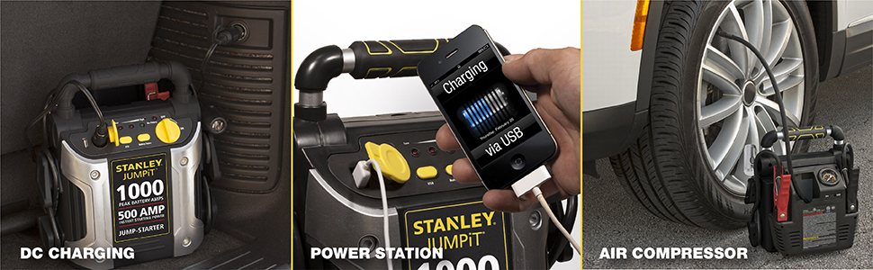 DC charging, power station, air compressor