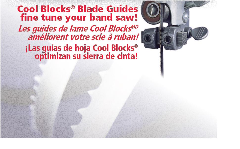 Cool Blocks blade guides