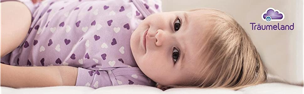 Babymatratze Milchstrasse 70 x 140 cm Tr/äumeland T014602