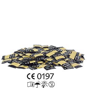 BILLY BOY Perlgenoppt 100er – transparente Kondome mit zarten Perlnoppen