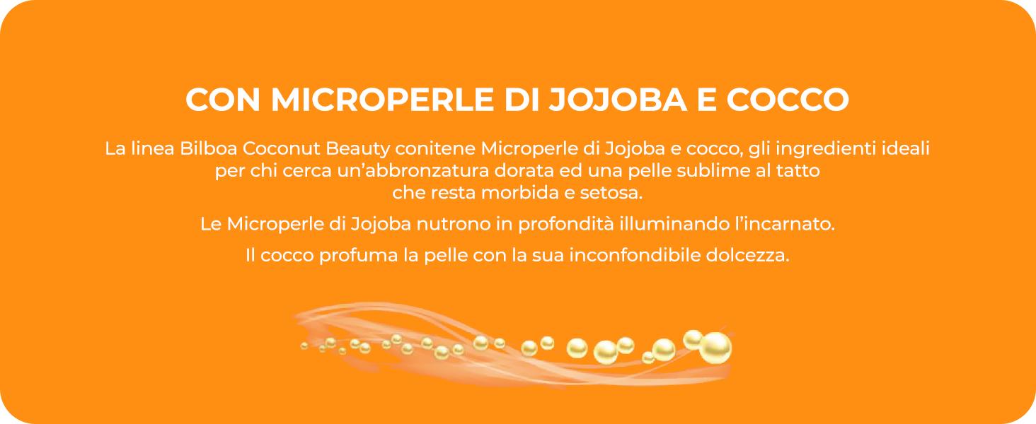 bilboa, coconut beauty, cocco, jojoba, idratazione, nutrimento, pelle protetta, profumo