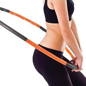 fitness hoop, hula hoop, weighted hoop, fitness, exercise,