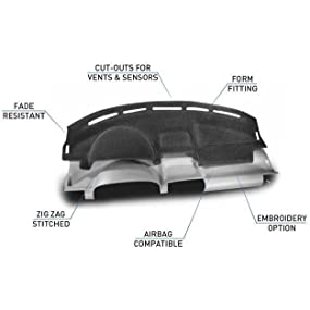 Black Coverking Custom Fit Front and Rear Floor Mats for Select Nissan Maxima Models Nylon Carpet CFMBX1NS7299
