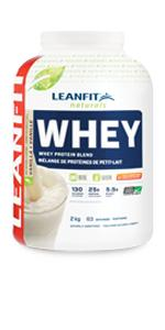 LeanFit Naturals Whey Protein with Whey Isolate