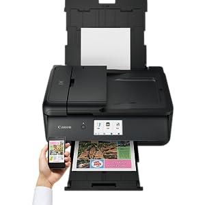 Canon Pixma TS9550 - Impresora multifunción, 4800 x 1200 PPP, LCD ...
