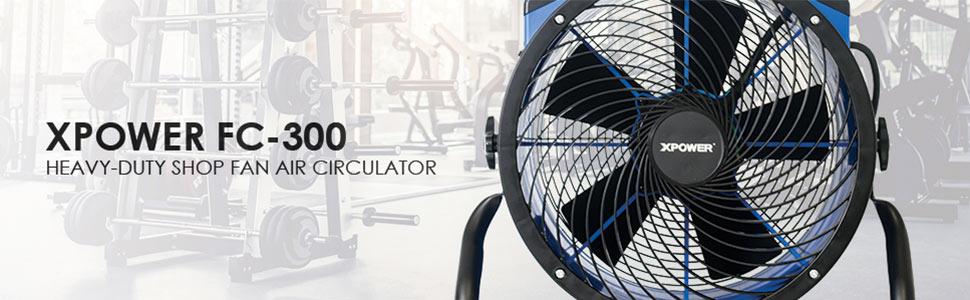 air circulator, heavy duty shop fan