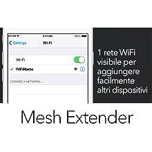 1 rete WiFi visibile per aggiungere facilmente altri dispositivi
