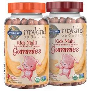 kids multi organic fruit vitamins gummies