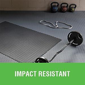 interlocking tile, home gym flooring, puzzle piece flooring, modular flooring, weight lifting